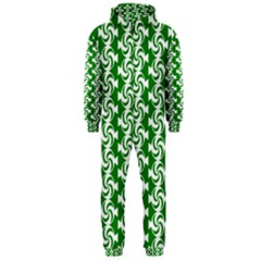Candy Illustration Pattern Hooded Jumpsuit (Men)