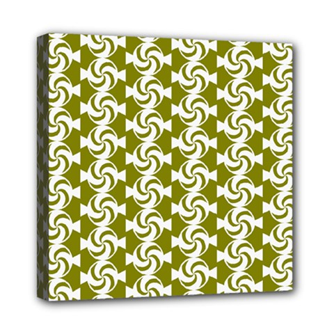 Candy Illustration Pattern Mini Canvas 8  X 8