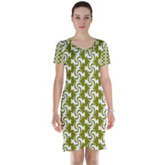 Candy Illustration Pattern Short Sleeve Nightdresses