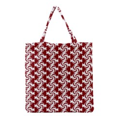 Candy Illustration Pattern Grocery Tote Bags