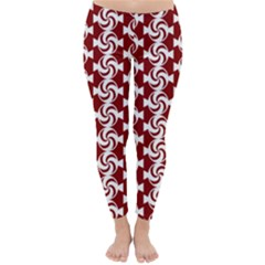 Candy Illustration Pattern Winter Leggings