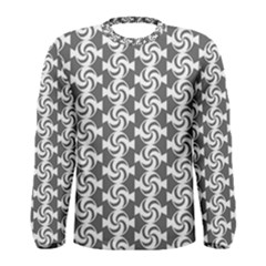Candy Illustration Pattern Men s Long Sleeve T Shirts