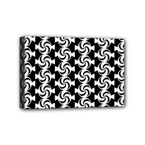 Candy Illustration Pattern Mini Canvas 6  X 4