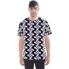 Candy Illustration Pattern Men s Sport Mesh Tees