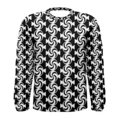 Candy Illustration Pattern Men s Long Sleeve T-shirts