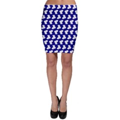 Cute Baby Socks Illustration Pattern Bodycon Skirts