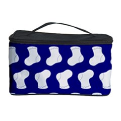 Cute Baby Socks Illustration Pattern Cosmetic Storage Cases