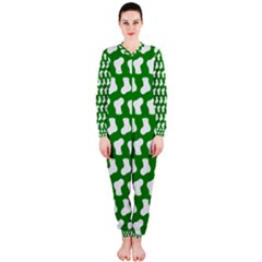 Cute Baby Socks Illustration Pattern OnePiece Jumpsuit (Ladies)