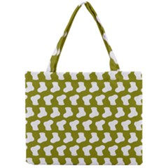 Cute Baby Socks Illustration Pattern Tiny Tote Bags