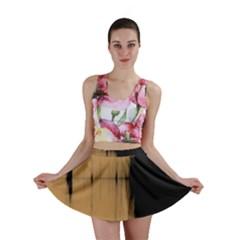 Sunset Black Mini Skirts