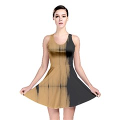Sunset Black Reversible Skater Dresses