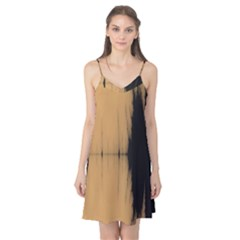 Sunset Black Camis Nightgown
