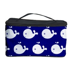Cute Whale Illustration Pattern Cosmetic Storage Cases