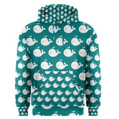 Cute Whale Illustration Pattern Men s Pullover Hoodies