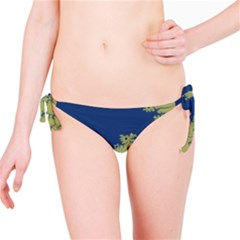 Blue And Green Design Bikini Bottoms