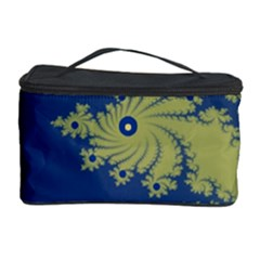 Blue and Green Design Cosmetic Storage Cases