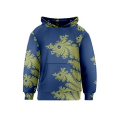 Blue and Green Design Kid s Pullover Hoodies