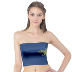 Blue and Green Design Women s Tube Tops