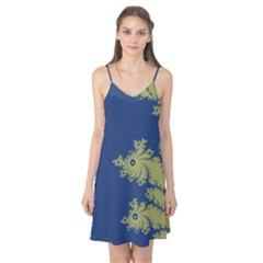 Blue and Green Design Camis Nightgown