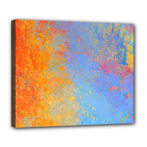 Hot And Cold Deluxe Canvas 24  X 20