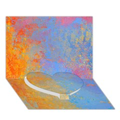 Hot and Cold Heart Bottom 3D Greeting Card (7x5)