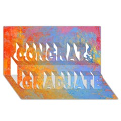 Hot And Cold Congrats Graduate 3d Greeting Card (8x4)
