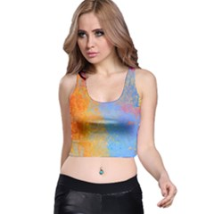 Hot and Cold Racer Back Crop Tops