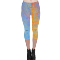 Hot And Cold Capri Leggings