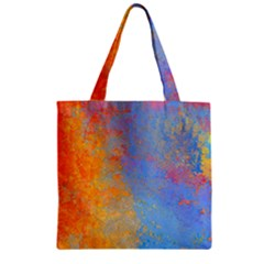 Hot And Cold Zipper Grocery Tote Bags