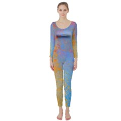Hot and Cold Long Sleeve Catsuit