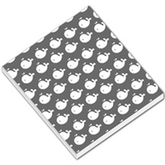 Cute Whale Illustration Pattern Small Memo Pads