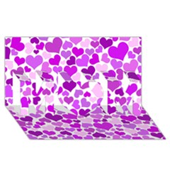 Heart 2014 0929 MOM 3D Greeting Card (8x4)