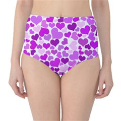 Heart 2014 0929 High-Waist Bikini Bottoms