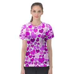 Heart 2014 0930 Women s Sport Mesh Tees