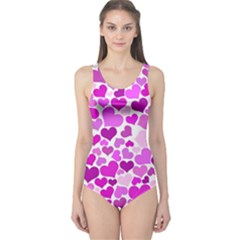 Heart 2014 0930 Women s One Piece Swimsuits