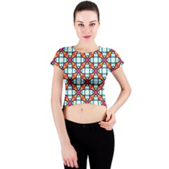 Cute Pattern Gifts Crew Neck Crop Top