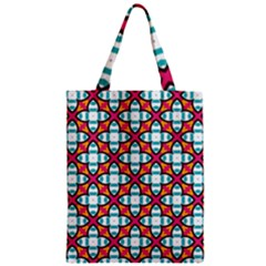 Cute Pattern Gifts Zipper Classic Tote Bags