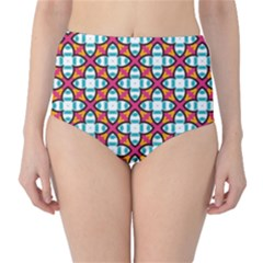 Cute Pattern Gifts High-Waist Bikini Bottoms