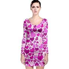 Heart 2014 0931 Long Sleeve Bodycon Dresses