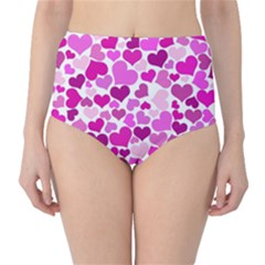 Heart 2014 0931 High-Waist Bikini Bottoms