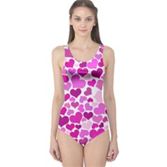 Heart 2014 0931 Women s One Piece Swimsuits
