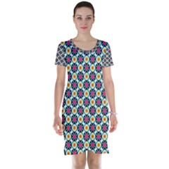 Cute Pattern Gifts Short Sleeve Nightdresses