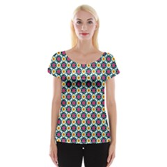 Cute Pattern Gifts Women s Cap Sleeve Top