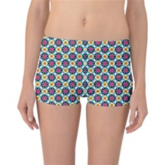 Cute Pattern Gifts Reversible Boyleg Bikini Bottoms