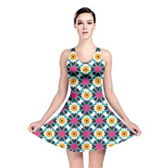 Cute Pattern Gifts Reversible Skater Dresses