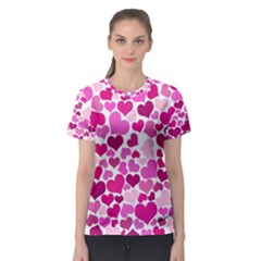 Heart 2014 0932 Women s Sport Mesh Tees