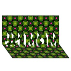 Cute Pattern Gifts #1 MOM 3D Greeting Cards (8x4)