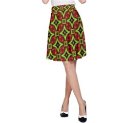 Cute Pattern Gifts A Line Skirts