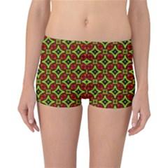 Cute Pattern Gifts Reversible Boyleg Bikini Bottoms