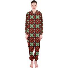 Cute Pattern Gifts Hooded Jumpsuit (Ladies)